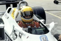 Ayrton Senna first test